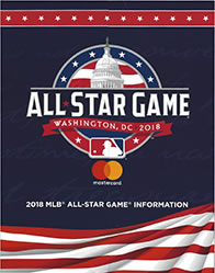 MLB All Star Game flyer