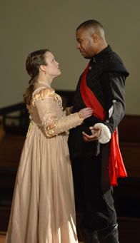 Photo of Desdemona and Othello