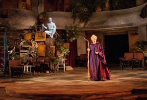 Production photo of The Tempest at the Old Globe