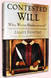 Cover of James Shapiro's Contested Will